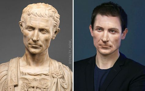 History Discover Heres What Julius Caesar Cleopatra Caligula And Others Would Look Like Today Madame Du Barry Anastasia Romanov Anne Boleyn Anne Of Cleves Julius Caesar Elizabeth I Cleopatra Jane Austen Isabel I Anne Boleyn, Anne Of Cleves, Madame Du Barry, Anastasia Romanov, Hans Holbein, French History, Roman History, British History, Julius Caesar