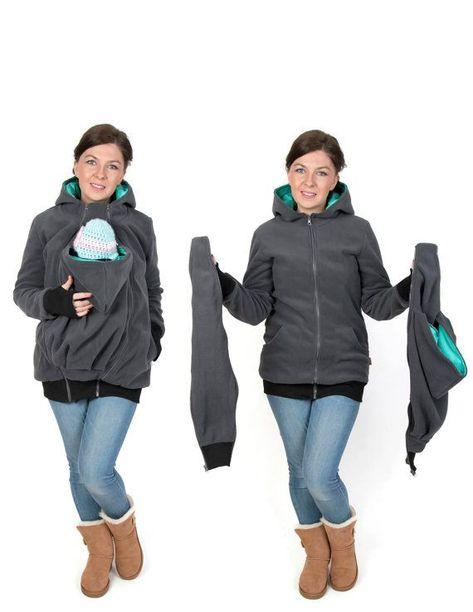 FUN2BEMUM 3in1 Softshell Coat Babywearing Jacket Maternity