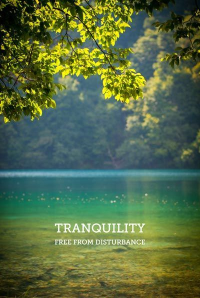 Tranquility Building Inner Peace Space Mind Find And How