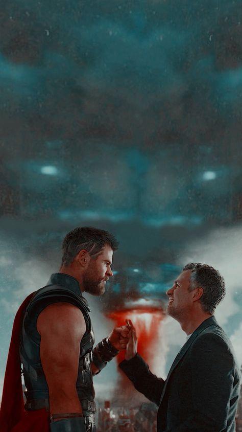 Thor & Bruce Banner Wallpaper