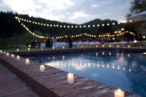 tarros para boda-decoracion piscina bodasnet