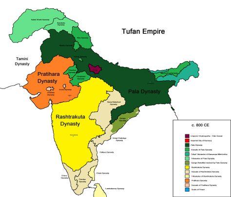 India 800 Ce Kort