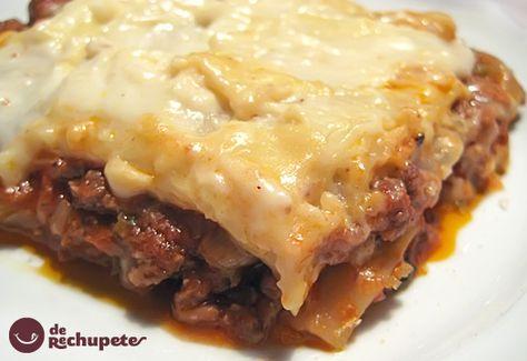 9d1c1b03f78cacb001b4fecccb60069f  recetas pasta relleno - Recetas De Lasaã A De Carne