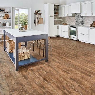 Mohawk Foreverstyle Oak Wood 6 In X 24 In Matte Porcelain Wood Look Floor Tile Lowes Com In 2020 Oak Wood Floors House Tiles Tiles Price