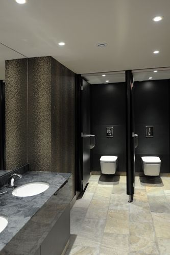 Countertops With Built In Sinks Public Washrooms Bathroom