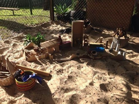 "Sand area at Five Star Family Day Care Maitland ("",)"
