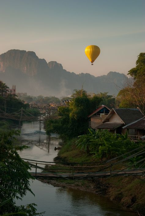 Travel to Laos. I just wanna relax here...
