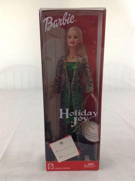 2003 Holiday Joy Barbie Doll Mattel 56286
