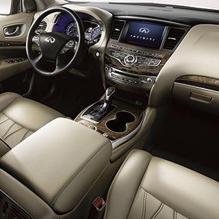 2018 Infiniti Qx60 Crossover Interior Details Infiniti Infiniti Vehicles Infiniti Usa