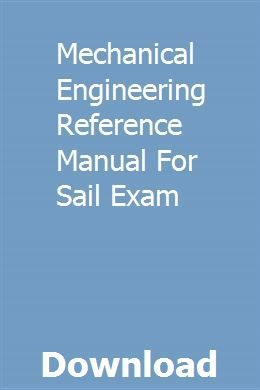Mechanical Engineering Reference Manual For Sail Exam Pdf Download Hot Rods Cars Muscle Mechanical Engineering Mechanic