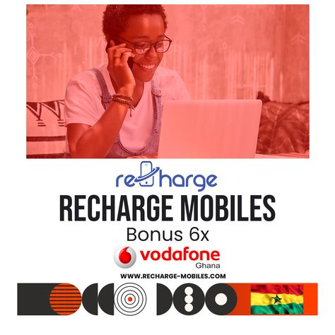 𝐕𝐨𝐝𝐚𝐟𝐨𝐧𝐞 𝐆𝐡𝐚𝐧𝐚 📲⠀ ⠀ 𝐏𝐫𝐨𝐦𝐨𝐭𝐢𝐨𝐧: Bonus 6x⠀ 𝐎𝐩𝐞𝐫𝐚𝐭𝐨𝐫: Vodafone Ghana⠀ 𝐂𝐨𝐮𝐧𝐭𝐫𝐲: Ghana⠀ 𝐃𝐞𝐧𝐨𝐦𝐢𝐧𝐚𝐭𝐢𝐨𝐧𝐬(𝐥𝐨𝐜𝐚𝐥): GHS 0.5 TO GHS 120⠀ ⠀ 𝐓𝐞𝐫𝐦𝐬 𝐚𝐧𝐝 𝐂𝐨𝐧𝐝𝐢𝐭𝐢𝐨𝐧𝐬: 📑⠀ ⠀ ▷ We are happy to let you know that Vodafone Ghana has a 500% bonus for all international airtime top ups.⠀ ⠀ ▷ Bonus is valid for 7 days.⠀ ⠀ Top up Mobile with www.recharge-mobiles.com 🔝 ⠀ #rechargemobiles #mobiletopup #mobilerecharge