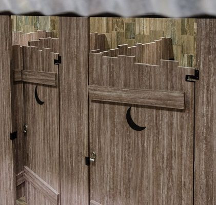Arborite Bathroom Stall Dividers Google Search Beer Garden - Wood bathroom stall partitions
