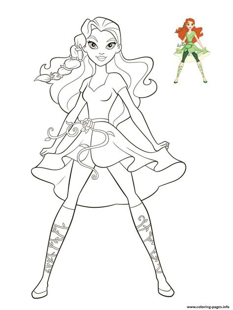 Wonder Woman And Supergirl Super Hero High Coloring Page With Images Superhero Coloring Pages Superhero Coloring Coloring Pages For Girls