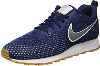 Online Shop Nike MD Runner 2 Herren Turnschuhe Weiß Blau