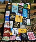 T Shirt Quilt - many designs