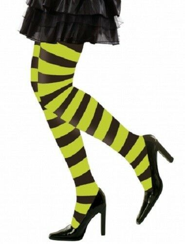 Black Fishnet Tights XL Plus Size Fancy Dress Womens Costume Hoisery Accessory