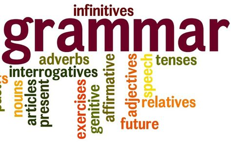 Grammar – A necessary evil.