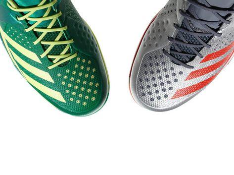 Die neuen adidas Counterblast Handballschuhe 2018 in silber
