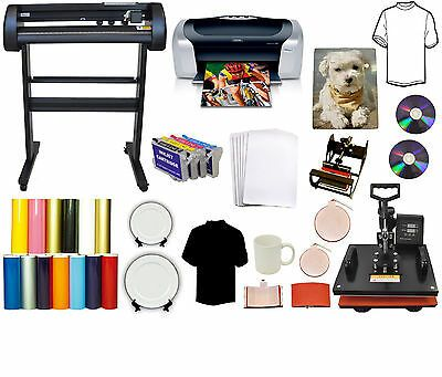 Ad Ebay Url 5in1 Heat Press 28 24 500g Laserpoint Vinyl Cutter Plotter Printer Refil Tshirt In 2020 Vinyl Printer Vinyl Cutter Vinyl Cutter Machine