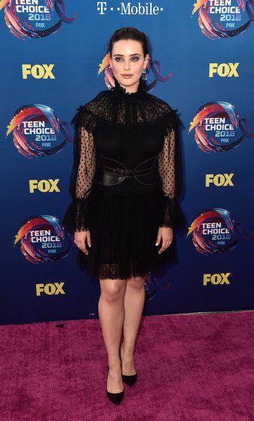Katherine Langford attends FOX's Teen Choice Awards.