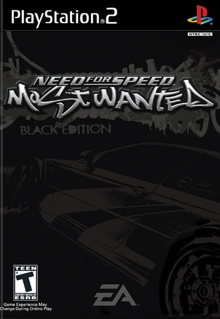 Need For Speed Most Wanted Black Edition Ps2 Iso Rom Download Need For Speed Need For Speed Games Ps2 Games