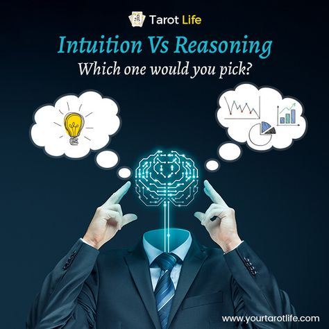 A combination of your intuitive powers and a logical approach is the key to take effective decisions! Tap into your intuitive powers with a tarot reading app and make the right choices... #intuition #reasoning #pickcard #pickacardtarot #tarotintuition #cards #tarotpower #intuitivepowers #TarotLife  #tarotapp #tarot #tarotdeck #tarotreading #dailytarot #listentoyourtarot #tarotreadings #tarotthursday #tarotlovers