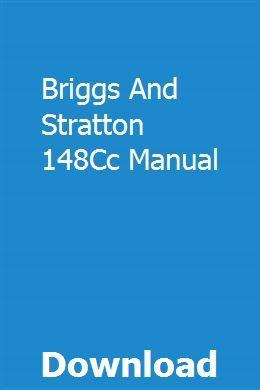 Briggs And Stratton 148cc Manual Briggs Stratton Stratton Tractors For Sale