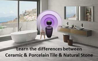 Is There A Difference Between Ceramic And Porcelain Tile Porcelain Tile Tile Design Baths Interior