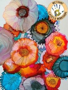 Alcohol Inks: Fascinating Surprises with Wendy Westlake