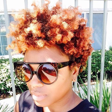 Color and curls popping!