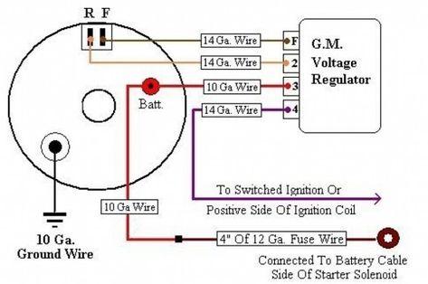 Chevy Alternator 4 Wire Diagram - Wiring Diagram