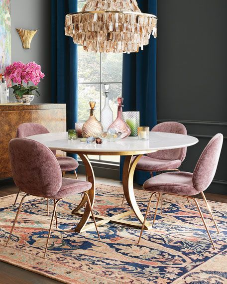 Oris Acrylic Dining Table Marble Top Dining Table Dining Chairs
