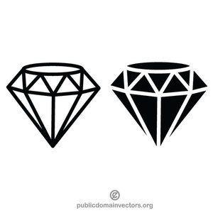 Diamond Vector Clip Art Graphics Diamond Tattoo Designs Diamond Vector Black Diamond Tattoos