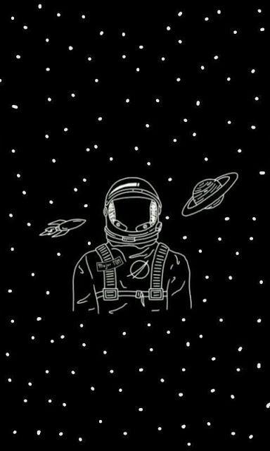 Black Art Wallpaper Astronaut Astronaut Wallpaper Art Wallpaper Space Art