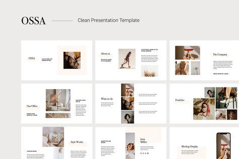 OSSA - Clean Keynote Template