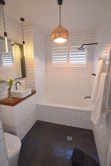 Ahhh Small Bathroom Decor Ideas Pinterest Repin Small Bathroom Remodel White Subway Tile Bathroom Small Bathroom