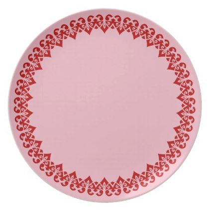 Individual Dinner Plates & ... Edge And Inidual Flower ...