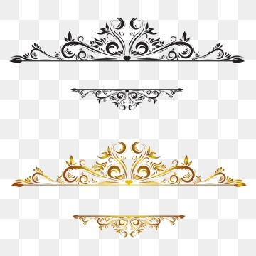 Vintage Border Png And Vector In 2020 Vintage Borders Gold Clipart Clip Art Borders