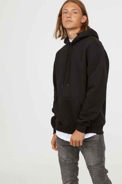 40629da8c H&M Hooded Sweatshirt - Brown in 2019   Brand Names   Hooded ...