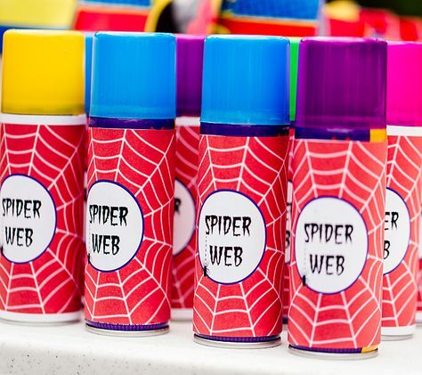 Traces 4 Year Old Superhero Birthday Party - Batman Printables - Ideas of Batman Printables - A great idea for a Birthday Party is a spider web fight! Featuring SIMONEmadeit Party Printables www. Avengers Birthday, Superhero Birthday Party, Birthday Party Games, 6th Birthday Parties, Birthday Fun, Superhero Party Favors, Super Hero Birthday, 5th Birthday Ideas For Boys, Superhero Ideas