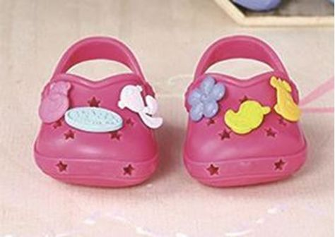 The Model Shop-BABY BORN SHOES W/FUNNY PINS