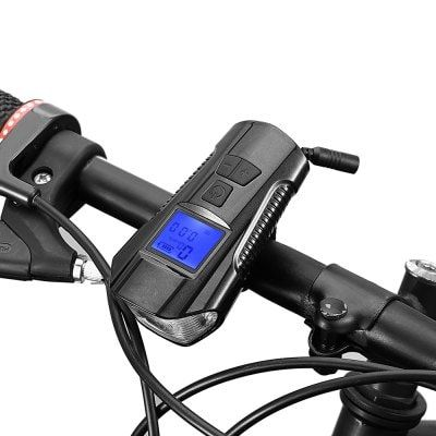 Gocomma 3 In 1 Smart Usb Charging Bike Computer Cycling Headlights