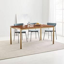 Modern Farmhouse Expandable Dining Table Cerused Carob In 2020
