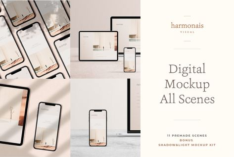 Digital Devices Mockup