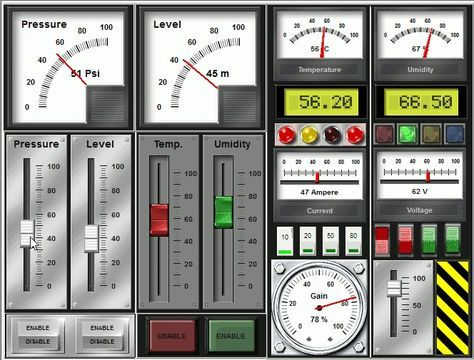 A Downloadable Free Version Of Human Machine Interface Hmi Scada Is Available On The Official Website Of Human Machine Interface Arduino Electronics Projects