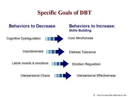 DBT for children Adapting Dialectical Behaviour Therapy for - sample research agenda