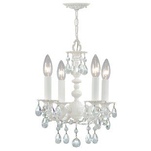 House Of Hampton Sheba 9 Light Shaded Tiered Chandelier Candle Style Chandelier Mini Chandelier Candle Styling