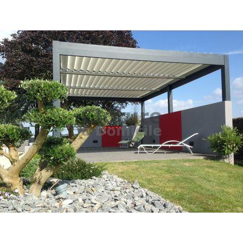 La PERGOLA BIOCLIMATIQUE vous permet de couvrir votre terrasse sans ...