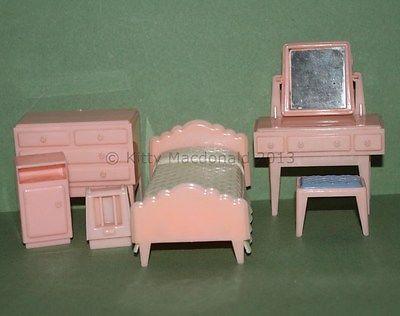 vintage* MODELLA * BEDROOM SET - 12th scale/ RETRO FANTASTIC! eBay