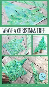 Christmas tree  - Weihnachten: Basteln, DIY und Deko -   #basteln #Christmas #Deko #Diy #Tree #und #Weihnachten